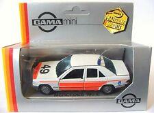 1:43 Scale GAMA 81123000 Mercedes-Benz 190E Saloon - RIJKSPOLITIE - MIB