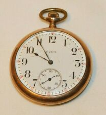 BEAUTIFUL Antique Elgin 15 Jewel Pocket Watch # 18553688