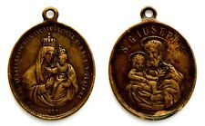 Medaglia Religiosa Devozionale San Giuseppe Cinquantenario Dell'Incoronazione Di