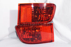 Rear Side Reflector Marker Light Lamps One Pair Fit 2003 - 2005 4 Runner