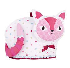 Cat Tea Cosy Cozy Ashdene Snug Pink White Kitten Keep Teapot Warm New Meow