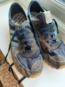 Mens Adidas marathon city blue size 10 used