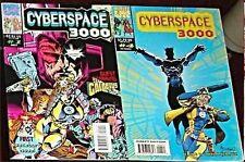 CYPERSPACE 3000 1 & 4 1993 MARVEL NM