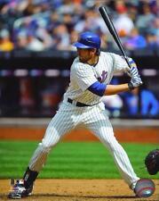 "Ike Davis 8X10 Licensed Photo NEW YORK METS ""Batting Action"" THROWBACK JERSEY"