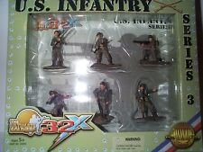 ULTIMATE SOLDIER 32X 1/32 SCALE WWII US ARMY INFANTRY SOLDIERS SERIES 3 MIB