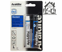 Araldite Standard Rapid Fusion Crystal Steel Instant Repair Bar Strong Epoxy