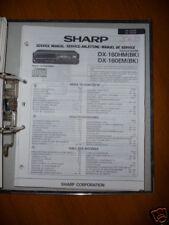 Manuel de service pour Sharp dx-160hm / EM lecteur cd original