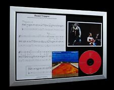 RED HOT CHILI PEPPERS Road Trippin' LTD Nod CD GALLERY QUALITY FRAMED DISPLAY!!