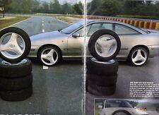 Z20 Ritaglio Clipping 1997 Opel Calibra BMW 320i cerchi in lega e pneumatici