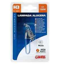 Lampada alogena 12V H3 100W PK22s 1PZ D/Blister COD.58031