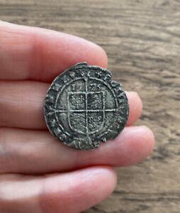 ELIZABETH I (1558-1603). SILVER SIXPENCE. DATED 1575.