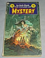 1ST EDITION Tales from THE HOUSE OF MYSTERY#1 book BERNIE WRIGHTSON & JACK OLECK