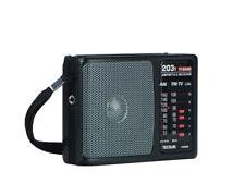 TECSUN R-203T Dual Band Pocket Size Radio Receiver ** English Manual **