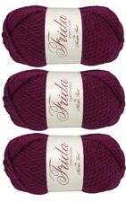 Master Knit FRIDA Super Chunky Wool Yarn 7oz / 131yd (3 pack)