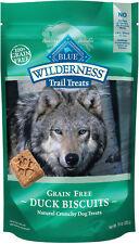 Blue Buffalo Wilderness Trail Treats Duck Biscuits Grain-Free Dog Treats, 10-oz