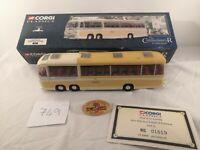 Corgi 1/50 Scale Model Bus 35304 - Bedford Val Smiths Tours - Shearings