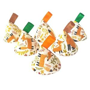 Pee Pee TeePee x6. Wee Teepees Cones. Boy Baby Shower Gift. Fox Woodland Nature