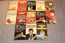 James Bond Ian Fleming PANTHER set of 1970's softcover books x13