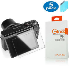 5X NX For Canon PowerShot G5X G7X G9X G7 X Mark II Screen Protector