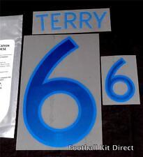 England Terry 6 2011-12 Home Football Shirt Name Set Sporting ID