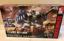 NEW SEALED Transformers Fortress Maximus Titan's Return  Emissary Cerebros RARE