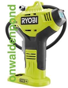 RYOBI P737D P737 18V PORTABLE DIGITAL GAUGE TIRE AIR INFLATOR CAR BICYCLE NEW