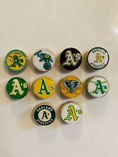Oakland A's Magnets / Oakland Athletics - Set of 10 - FREE SHIPPING