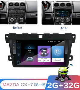 "For MAZDA CX-7 2008-2015 Car Stereo Radio 9"" Android 9.1 GPS Navigation + Canbus"
