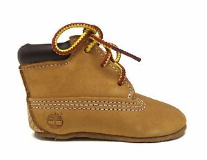 Timberland Infants CRIB BOOTIE & HAT GIFT SET Wheat 9589R e