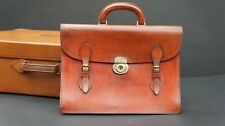 Executives English Bridle Leather Briefcase