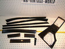 BMW E39 98 SPORT Technical graphite plastic Dash/Console/Doors/Ash OEM 10 Covers
