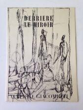 Derriere Le Miroir, Nos. 39-40 - Alberto Giacometti (June/July, 1951)
