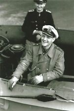 German U-Boat Ace Erich Topp  PHOTO Submarine Captain World War 2 Nazi Germany