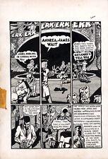 SPAIN RODRIGUEZ Skull Comix #5 p9 ORIGINAL COMIX ART Zap
