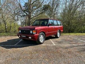 RANGE ROVER OVERFINCH 5.7 1989 - GALVANISED CHASSIS, RUST FREE, EXCELLENT VALUE