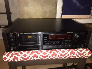 Tested JVC TD-V711 3 Head Tape Cassette Recorder Deck In Very Good Condition