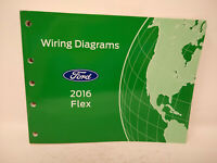 2013 Ford Flex Wiring Diagrams Manual Oem Ebay