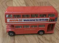 Vintage Corgi London Double Decker Transport Bus Toy Pressed Steel Routemaster