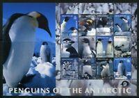 Brit. Antarktis Gebiete ZD-Bogen MiNr. 369-80 postfrisch MNH Pinguine (P848