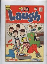 Laugh comic 166 classic Beatles cover Archie Betty & veronica