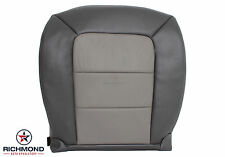 2005 Ford Explorer Sport Trac -Driver Side Bottom Leather Seat Cover 2-Tone Gray