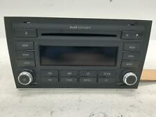 2007 AUDI A4 OEM Radio/CD/Stereo Head Unit 8E0035186AL