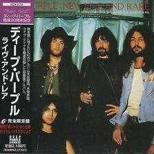 Deep Purple NEW, LIVE & RARE Japan OBI Mini-LP CD SLEEVE TECW-21723