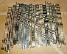 Model Railway 00 gauge Track Rails Hornby Lima Peco  mix  Straight 34mm 27x