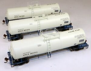 Athearn #94825 Clay Tank Car Set Union Tank Car #301222/415/711 1/87 HO Scale