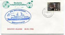 1985 Deutsche Antarktisexpedition Polarstern Bremerhaven Capetown Polar Cover