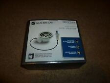 Glacier Bay 1001 977 412 push button sink strainer in stainless steel,7043-207SS