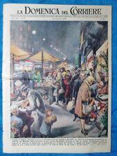 La Domenica del Corriere 23 dicembre 1951 Natale - Giambellino,Milano - Betlemme