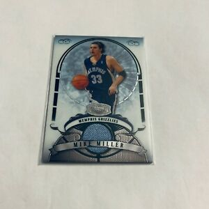 F80750  2007-08 Bowman Sterling #MM Mike Miller JERSEY GRIZZLIES /385