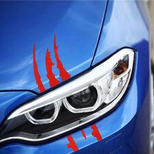 Pair Auto Car SUV Vinyl Graphic Car Headlight Sticker Scratch Stripe Decals DIY